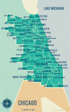 City of Chicago Map