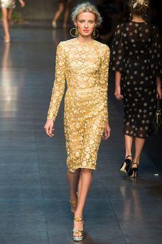 Dolce & Gabbana  Primavera Verano 2014 - Pasarela
