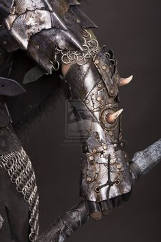 leather bracer orc by ~Lagueuse on deviantART