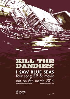 I Saw Blue Seas out on 6th March