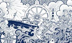 reading wharf sketch | Atlantic IPA for BrewDog, 30th Mar 2009