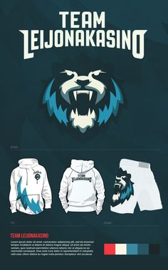 Team LK by Olli Jäderholm, via Behance