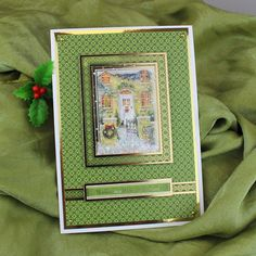 Card created using Hunkydory Crafts' Primrose Lane at Christmas Craft Stack Christmas Themes, Christmas Crafts, Hunkydory Crafts, Hunky Dory, Die Cut Cards, Garden Theme, Heartfelt Creations, Little Books, Xmas Cards