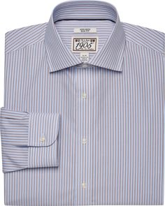Check this out! 1905 Slim Fit Cutaway Collar Multi Stripe Dress Shirt CLEARANCE from JoS. A. Bank Clothiers. #JosABank
