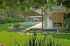 Tour Vidal Sassoon's Modern LA Home >> http://coolhouses.frontdoor.com/2012/11/13/vidal-sassoons-richard-neutra-designed-residence/?soc=pinterest#