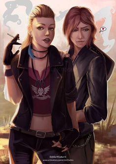Chloe and Rachels (Life is Strange: Before the Storm) Dahlia Khodur