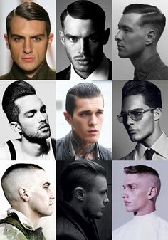 Men's Military Hairstyles Lookbook Inspiration