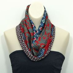 necktie cowl - Lulu's Upcycling Lounge