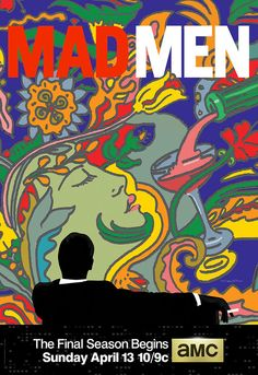 #MadMen final poster by #MiltonGlaser