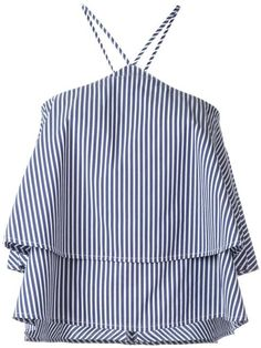 DONDUP striped top. #dondup #cloth #top