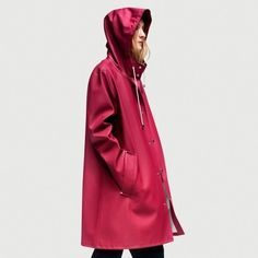 Stutterheim Raincoat Mosebacke Burgundy