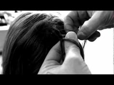 How to Waterfall Braid Long Hair with Dennis Lanni and Noot Sear - YouTube