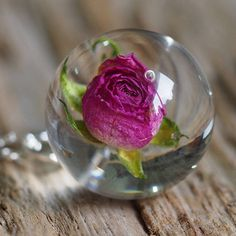 Rose Resin Necklace, Rose Pendant, Rose Jewelry, Resin Pendant, Rose necklace, Floral Resin Pendant, Silver Oxidized, Nature Jewelry