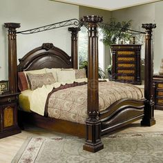 choose from platform canopy queen size canopy beds canopy beds and four poster beds - Poster Bed Frame