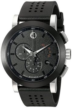 online shopping for Movado Men's 0606545 Museum Perforated Black-Rubber Strap Sport Watch from top store. See new offer for Movado Men's 0606545 Museum Perforated Black-Rubber Strap Sport Watch Black Rubber Bands, Thing 1, Black Leather Watch, Sport Watches, Men's Watches, Wrist Watches, Jewelry Watches, Luxury Watches For Men, Watches Online