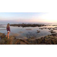 Night away with the fam  #schoolfam #thecrew #anglesea #beachfront #sunset by makiralouise http://ift.tt/1KosRIg