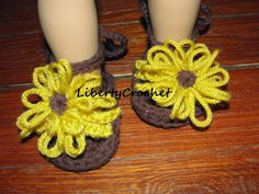 Crochet Baby Strap Sandals with FREE Pattern