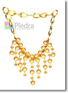 Aprenda a hacer collares de perlas gratis, explicación paso a paso tutorial en linea