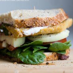 Olive Tapenade Tempeh Vegan Sandwich