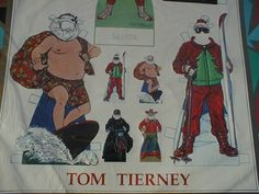 ePier - SANTA Paper Dolls, THOROUGHLY MODERN Santa and Mrs. Santa Claus, MINT http://www.epier.com/product.asp?86471