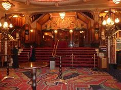 Foyer of Tuschinski theatre, Amsterdam