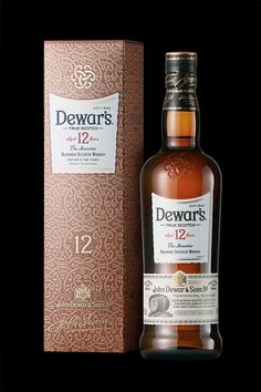 Because it's double aged, it's twice the gift. Need more inspiration? Try a Dewar's 12 Year-Old Blended Scotch Dramble: •50 mL Dewar's 12 •25 mL Lemon Juice •12.5 mL Sugar Syrup •10 mL Crème De Mure