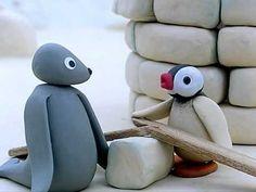 """""""Pingu"""". Dibuixos animats infantils amb la tècnica de l'stopmotion."""