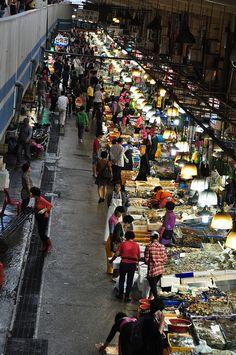 Noryangjin Fish Market, Seoul
