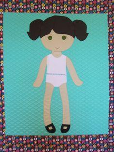 Paper Doll Blanket quilted children's blanket by PaperDollBlanket