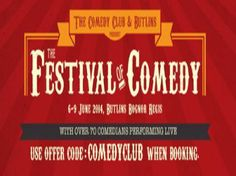 Festival of Comedy at Butlins Bognor Regis Resort, Upper Bognor Road, Bognor Regis, PO21 1JJ, UK. On Friday June 06, 2014 at 2:00 pm, ends Monday June 09, 2014 at 12:00 am, Price: From: £99, This is is a must for all comedy lovers! Headline comedians include, Al Murray, Lee Nelson and Micheal Winslow along with 70 other fantastic acts accross 5 stages in one location over 3 days. Artists: Al Murray, Lee Nelson, Micheal Winslow, and 70 other Fantastic Comedians.