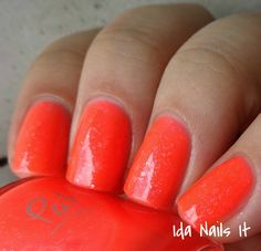 Brand: Pahlish // Collection: Tropical Trio (2015) // Color: Melon Baller // Blog: Ida Nails It