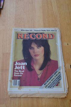 RECORD MAGAZINE JUNE 1983 JOAN JETT ULTRAVOX RAMONES BERLIN THOMAS