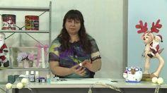 Activa Mujer 160 - Así de fácil - Adornos navideños en porcelana fría.