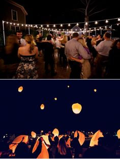 Our first date was Tangled and  he proposed at Blue Bayou - both involvem paper lanterns. So our wedding should have them too! release paper lanterns at end of reception = love