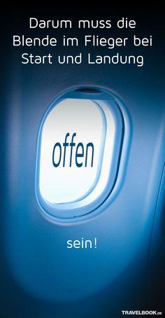 Haben Sie sich schon mal gefragt, warum die Fensterblenden in einem Flugzeug sowohl bei Start als auch Landung immer offen sein müssen? TRAVELBOOK hat sich das von einem Experten erklären lassen. Die Antwort ist überraschend.
