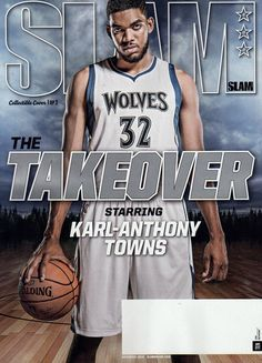 789cd2b5a SLAM MAGAZINE NOVEMBER 2016 KARL ANTHONY TOWNS STEPH CURRY MAYA MOORE  GARNETT KG Slam Magazine
