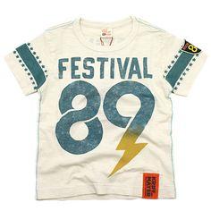 KRIFF MAYER(クリフメイヤー):FESTIVAL89-Tシャツ オフ(1) の通販【ブランド子供服のミリバール】