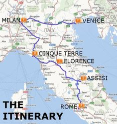 The Best of Italy by Train: A Two Week Itinerary - The Trusted Traveller - The Best of Italy by Train: A Two Week Itinerary Map - Toscana Italy, Verona Italy, Sorrento Italy, Naples Italy, Florence Italy, Venice Italy, Auckland, Italy Map, Italy Italy