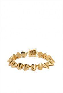 "Eddie Borgo small cone 6.25"" length bracelet"