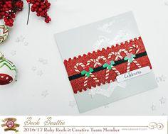 Christmas card fun with Beck