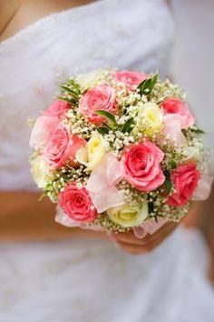Brautstraußform Biedermeier