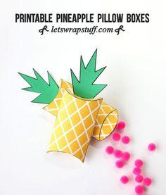 printable-pineapple-pillow-boxes.jpg (640×753)