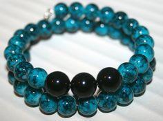 Check out this item in my Etsy shop https://www.etsy.com/listing/162624144/aqua-bracelet-boho-bracelet-turquoise