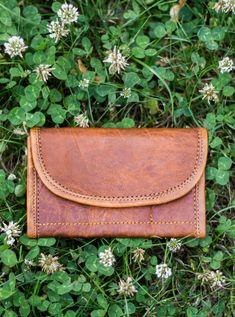 c8b71397acd4d Ranya Geldbörse Portemonnaie Brieftasche Vintage Damen Braun Leder