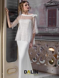 c13b01245cdd Dalin wedding dresses collection in 2018 rely on a modern and glamorous