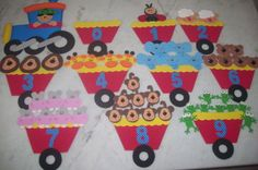 ♥ Everything for children: sayılar... learning numbers