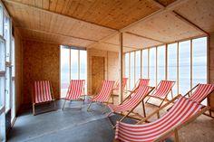 Lázně na Lodi © Rostislav Zapletal 2013 Outdoor Furniture, Outdoor Decor, Sun Lounger, Home Decor, Chaise Longue, Decoration Home, Room Decor, Home Interior Design, Backyard Furniture