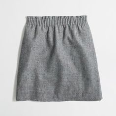 J Crew J.Crew Factory pleated mini skirt in flecked wool ($65) ❤ liked on Polyvore featuring skirts, mini skirts, long skirts, pleated skirt, j.crew, pocket skirt and mini skirt