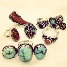 -EL HIEROGLYPH- Sinai Turquoise Ring
