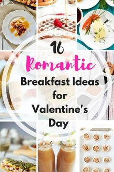 We love these 16 romantic Valentine's Day breakfast ideas - perfect for HIM or HER. Surprise the one you love with a romantic breakfast in bed for Valentine's Day! Romantic Breakfast, Breakfast On The Go, Best Breakfast, Breakfast Ideas, Romantic Food, Romantic Recipes, Indian Breakfast, Romantic Ideas, Healthy Breakfast Muffins